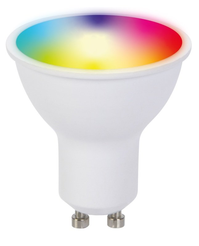TCP Smart WiFi RGBW GU10 Spotlight Bulb - Works with Alexa and Google