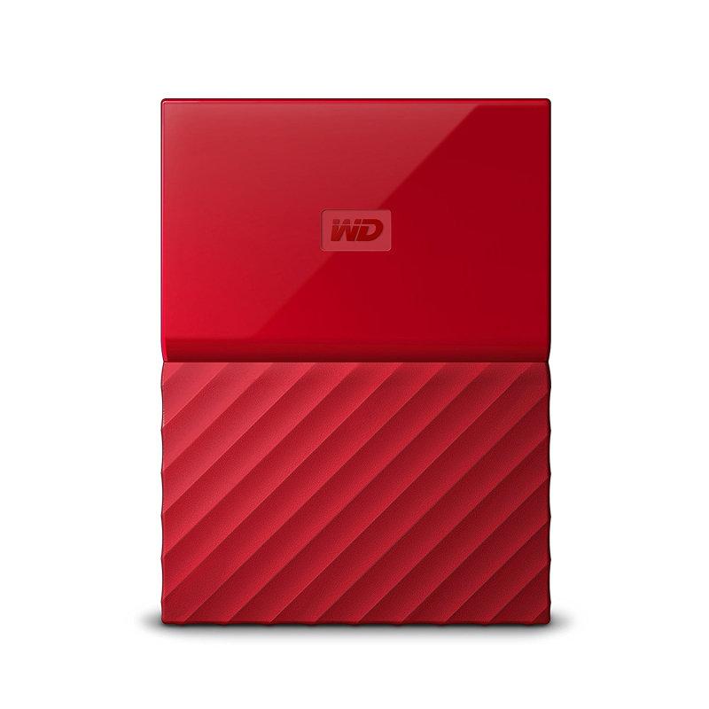 Western Digital My Passport external hard drive 4TB Red Worldwide Edition