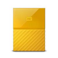 Western Digital My Passport external hard drive 4TB Yellow Worldwide Edition