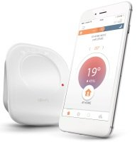 Somfy Connected Smart Thermostat Wireless - Works with Alexa and Google Assistant