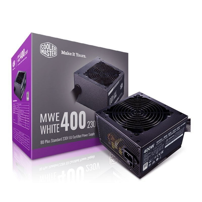 Cooler Master MWE White 400 v2 PSU 80+