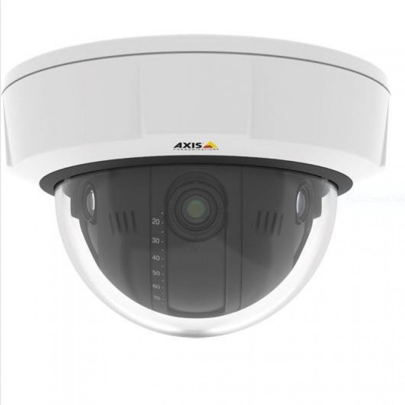 AXIS Q3708-PVE IndoorOutdoor Fixed Dome Network Camera