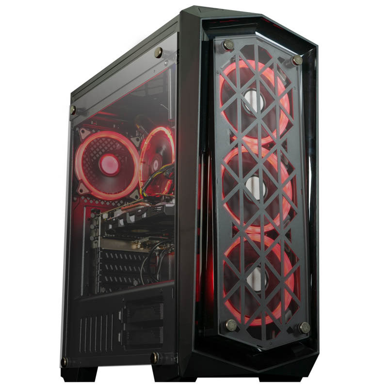 AlphaSync Ryzen 3 8GB RAM 1TB HDD 240GB SSD GTX 1060 Gaming Desktop PC