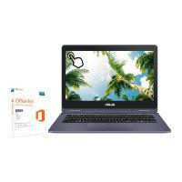 "Asus R214NA Intel Celeron 4GB 64GB eMMC 11.6"" Win10 Home Convertible Laptop"