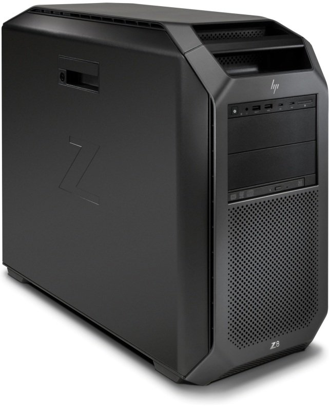 Image of HP Z8 G4 Workstation, Intel Xeon Silver 4108 1.8 GHz, 32GB DDR4, 1TB HDD, No Graphics, Windows 10 Pro for Workstations