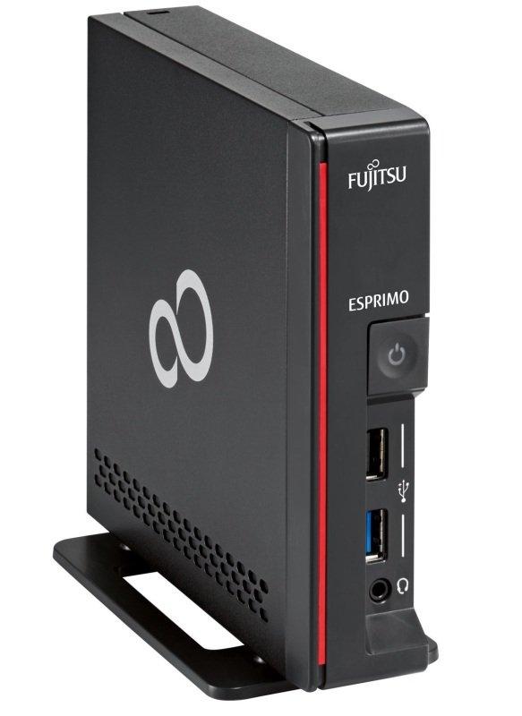 Fujitsu ESPRIMO G558 Pentium 4GB RAM 64GB SSD Win10 Pro Mini Desktop PC