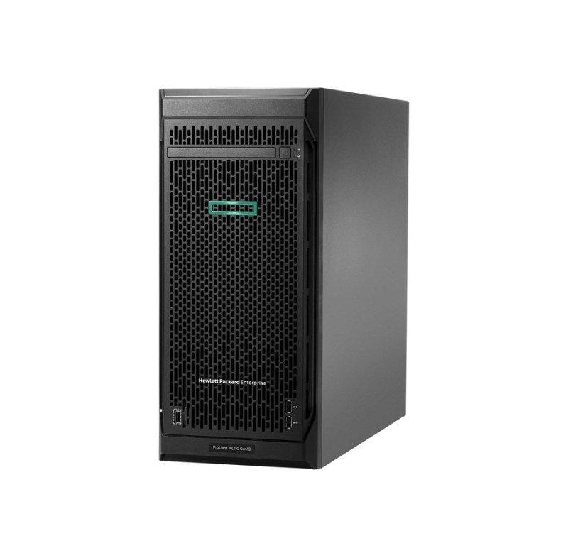 HPE ProLiant ML110 Gen10 Performance - Server - tower - 4.5U - 1-way - 1 x Xeon Bronze 3204 / 1.9 GHz - RAM 16 GB - SATA - hot-swap 3.5 - no HDD - GigE - monitor: none