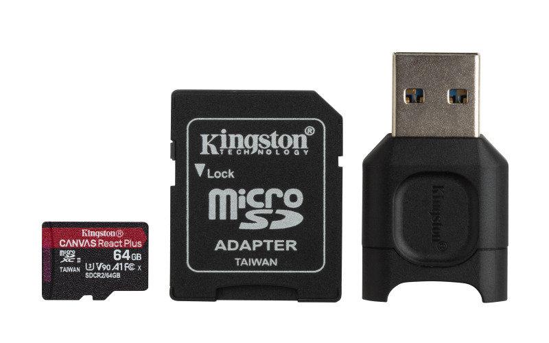Canvas React Plus microSD 64GB
