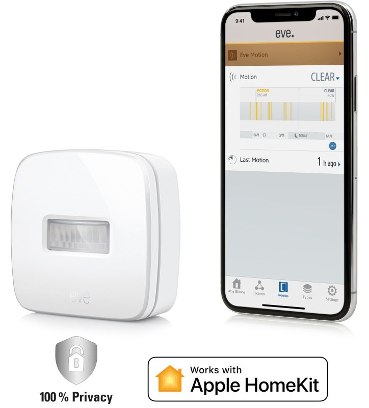 Image of Eve Motion - Wireless Motion Sensor - Works with Apple HomeKit