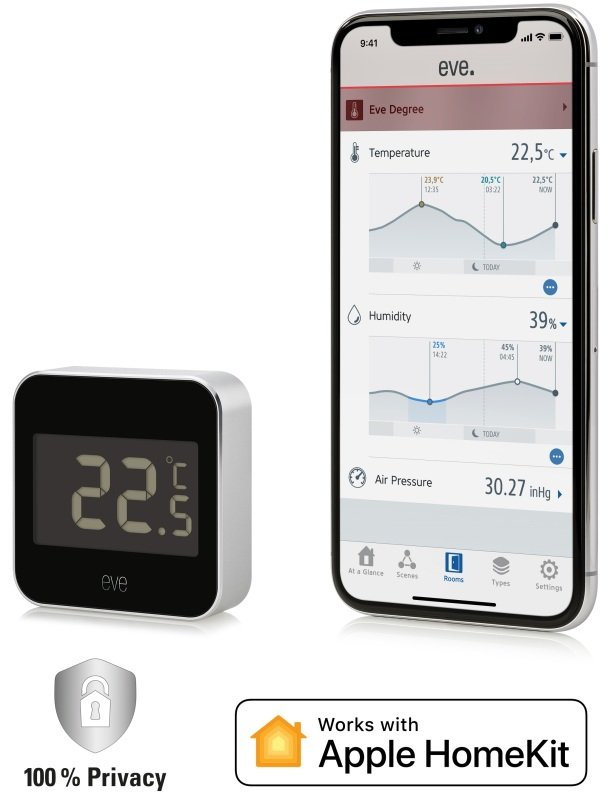 Image of Eve Degree - Connected Weather Station - Works with Apple HomeKit