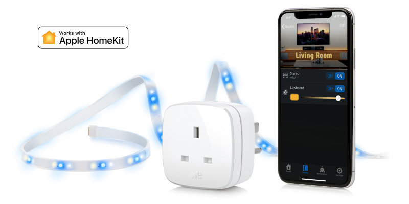 Eve Movie Night - Smart Led Strip And Smart Plug - Works With Apple HomeKit