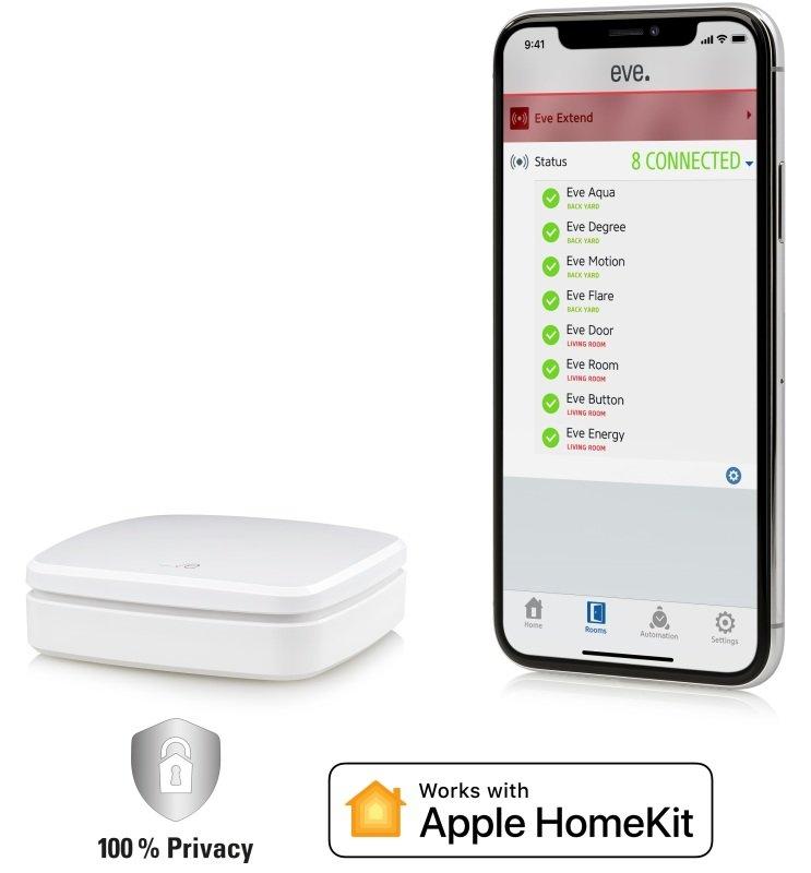 Eve Extend - Bluetooth Range Extender For Apple HomeKit Enabled Eve Accessories
