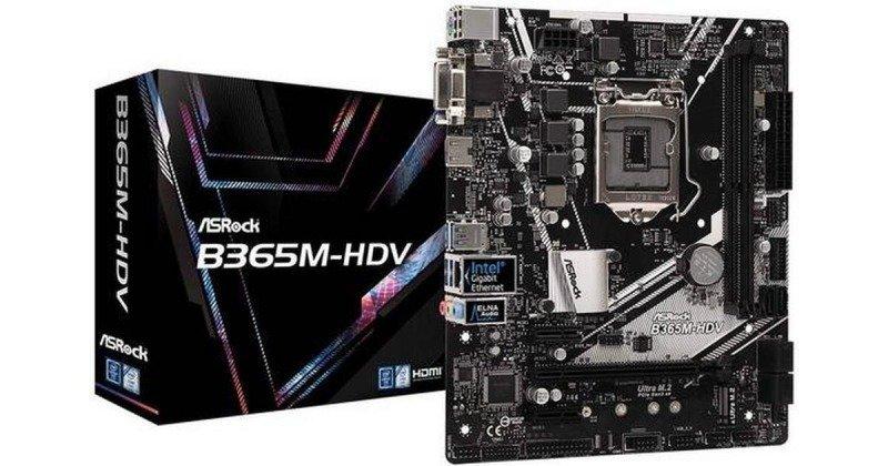 Asrock B365M-HDV 1151 DDR4 mATX Motherboard