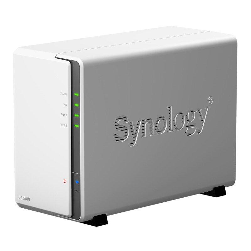 Synology DS220j 2 Bay Desktop NAS Enclosure