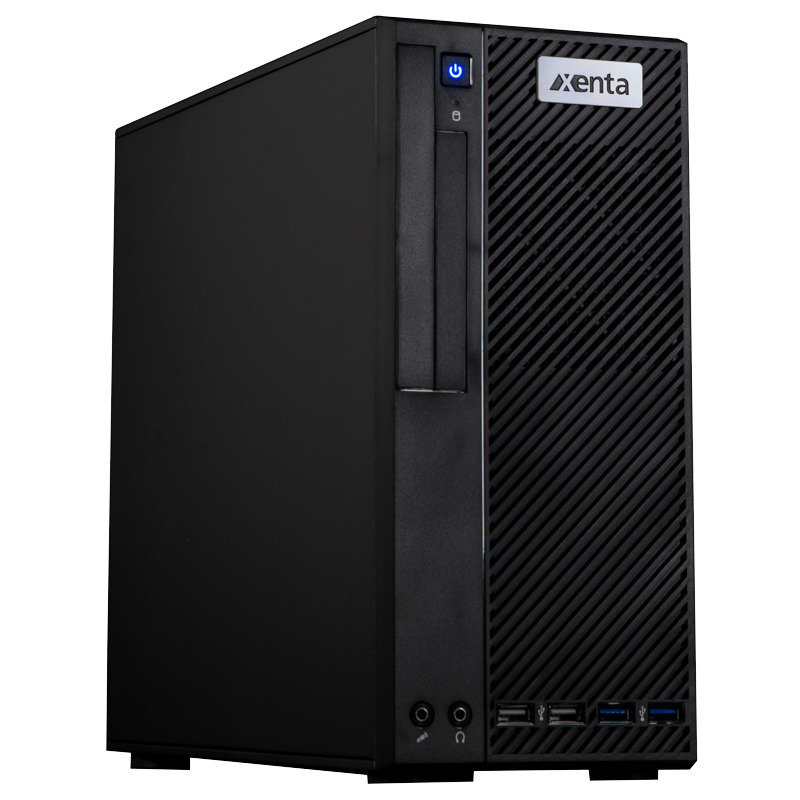 Xenta SFF Ryzen 5 3400G 8GB RAM 240GB SSD No-OS Desktop PC