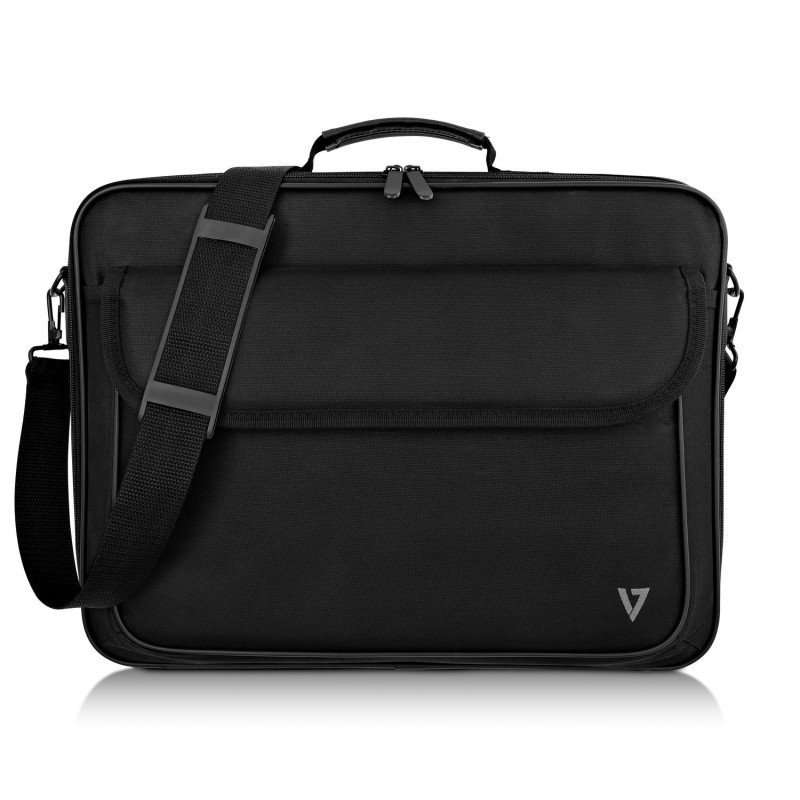 """V7 Essential Frontload 16"""" - Notebook Carrying Case Black"""
