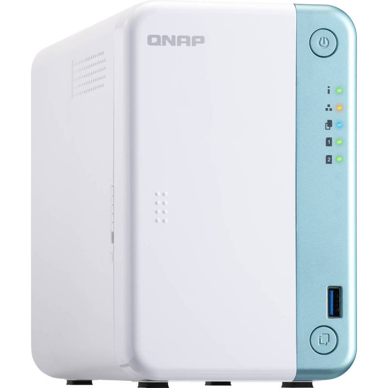 QNAP TS-251D-2G 2 Bay Desktop NAS Enclosure with 2GB RAM