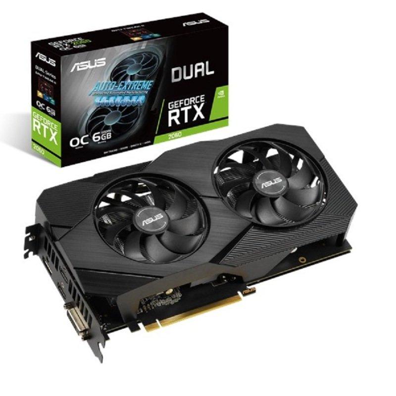 Asus GeForce RTX 2060 DUAL EVO OC 6GB Graphics Card
