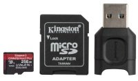 Kingston Canvas React Plus 256GB + Adapter