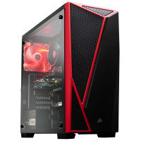 AlphaSync Ryzen 5 3400G 16GB RAM 1TB HDD 240GB SSD RX 5700 Win10 Home Gaming Desktop PC