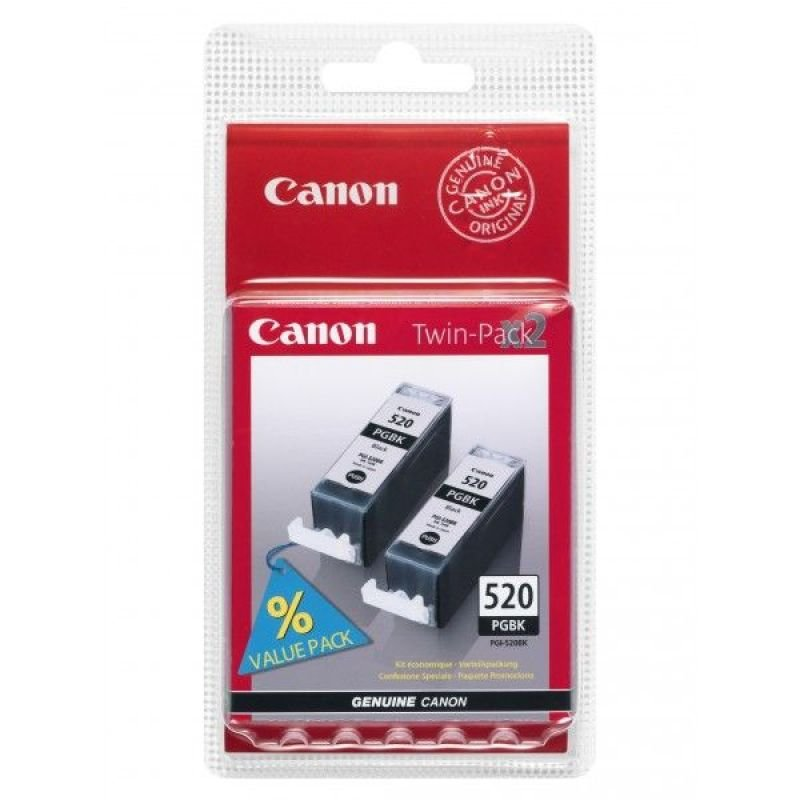 Canon PGI 520BK Twin Pack Ink tank