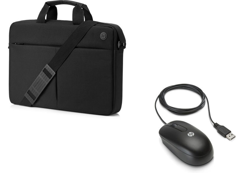 """HP Prelude Top Load Carry Case with HP Mouse - 15.6"""""""