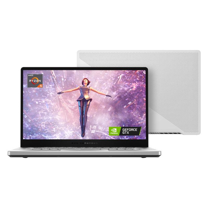 "ASUS ROG Zephyrus G14 Ryzen 5 8GB 512GB SSD GTX 1650 14"" Win10 Home Gaming Laptop - With 14"" ROG Sleeve"