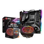 MSI MPG X570 GAMING PRO CARBON WIFI Motherboard with AMD Ryzen 7 3700X AM4 Processor Bundle