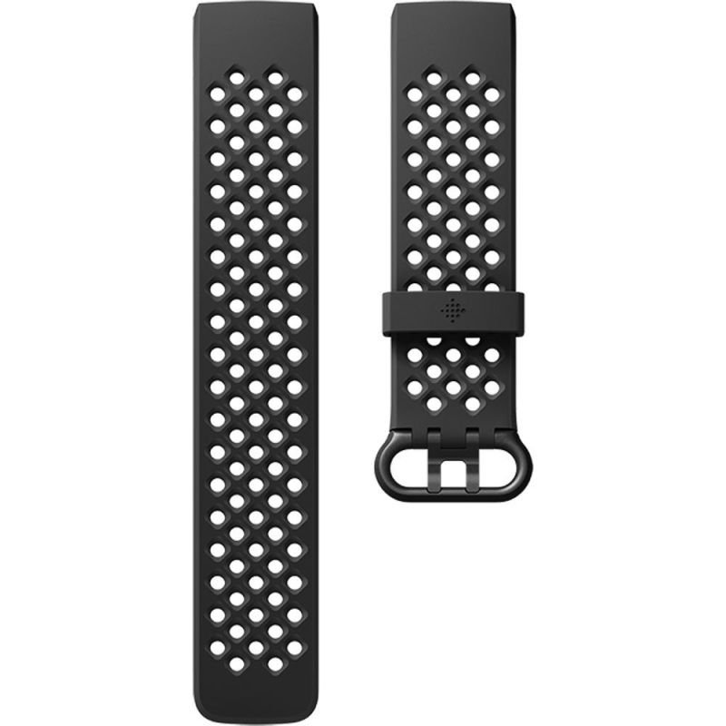 Fitbit Charge 3 Sport Band Black Large