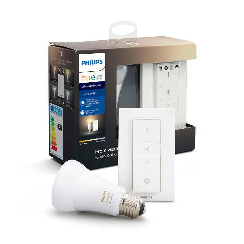 Philips Hue Bluetooth Smart Light Recipe Kit E27 - Works with Alexa and Google Assistant*