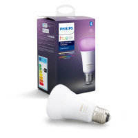 Philips Hue Bluetooth White And Colour Ambiance E27 Smart Bulb - Works with Alexa and Google Assistant*