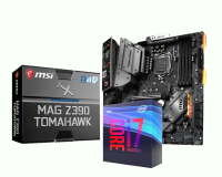 MSI MAG Z390 TOMAHAWK ATX Motherboard with Intel i7 9700K Processor