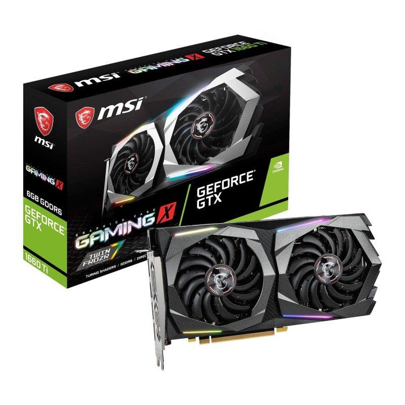 MSI GeForce GTX 1660 Ti GAMING X 6GB GDDR6 Graphics Card