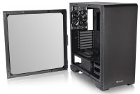 EXDISPLAY ThermalTake S300 Mid Tower Windowed PC Gaming Case
