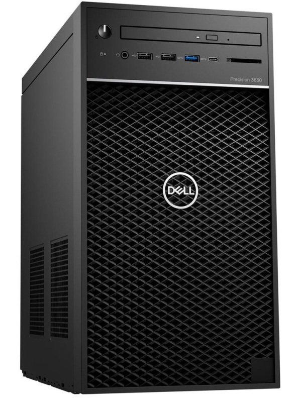 Dell Precision 3630 MT Intel Xeon 16GB RAM 256GB SSD Quadro P2200 Workstation Desktop PC