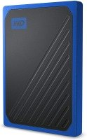 WD 2TB My Passport Go SSD Cobalt Portable External Storage, USB 3.0