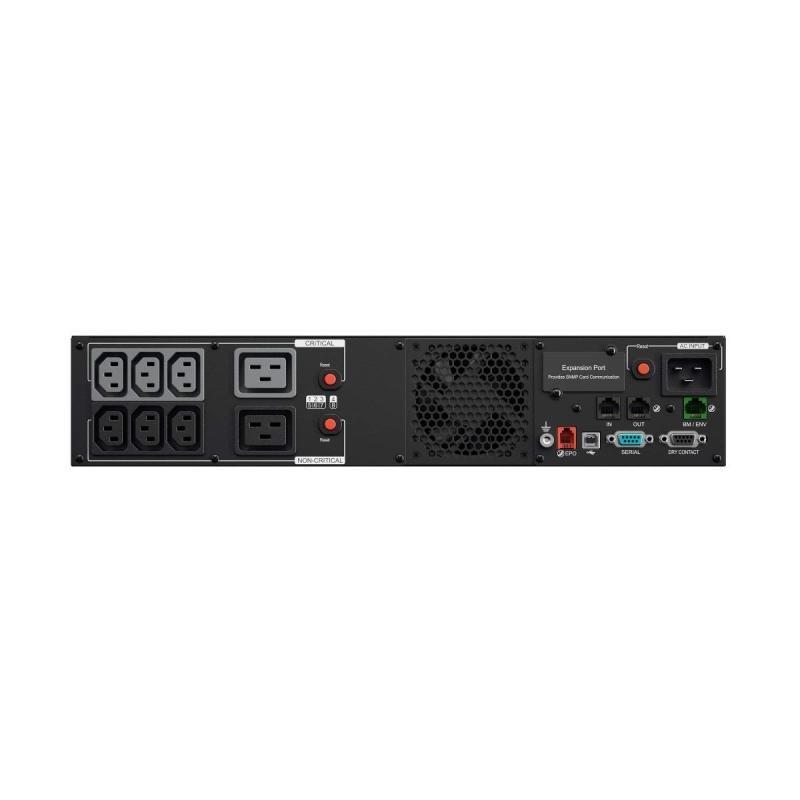 CyberPower Professional Rackmount PR1000ERT2U Line-interactive UPS 1000w Lcd Railkit Snmp In