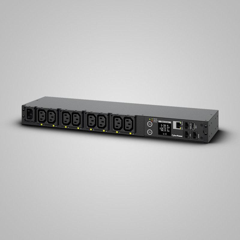 CyberPower PDU41004 PDU - Switched - IEC 60320 C14 - 8 x IEC 60320 C13 - 1U Networkport