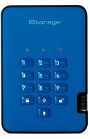 iStorage 1TB diskAshur2 HDD - Ocean Blue
