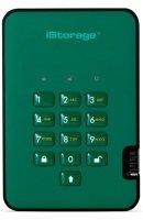 iStorage 1TB diskAshur2 HDD - Racing Green