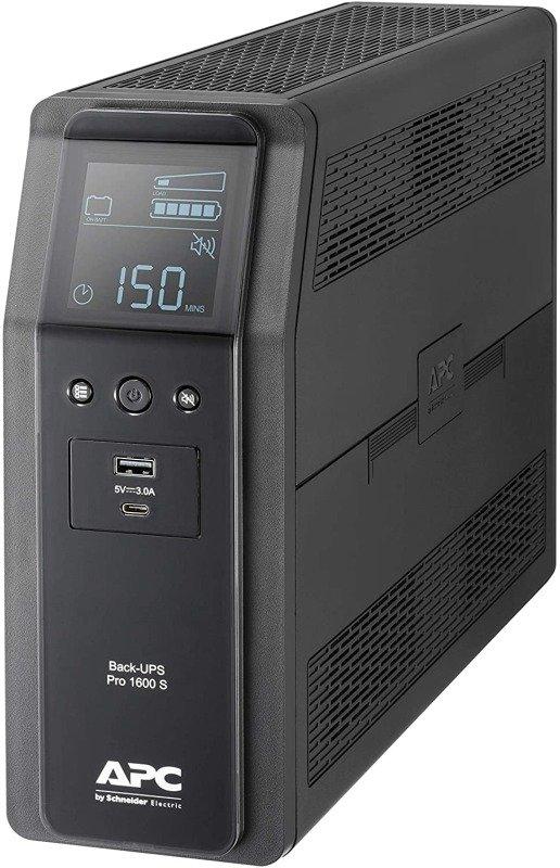 APC Back-UPS Pro BR1600SI - Line-Interactive UPS - 1600VA/960W - 8 x IEC