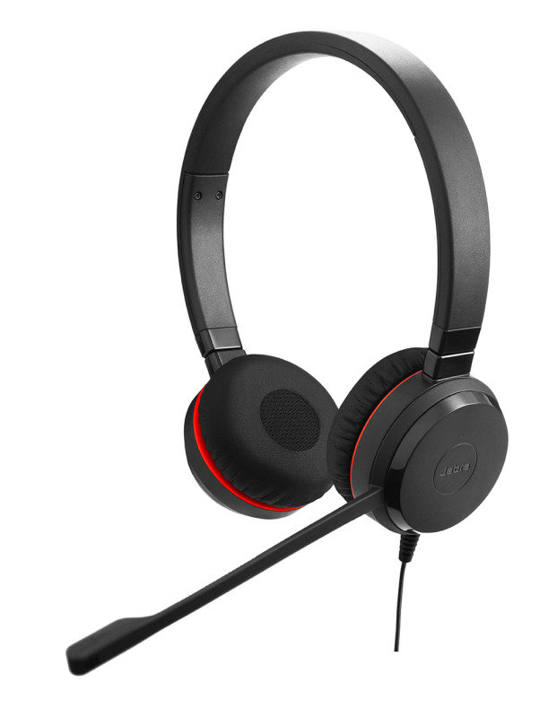 Jabra EVOLVE 30 II Duo Headset w 3.5mm Jack