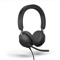 Jabra Evolve2 40 USB-A MS Stereo Headset - Black