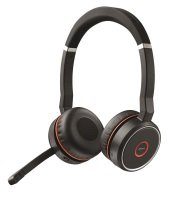 Jabra Evolve 75 MS Stereo Headset - With Charging Stand