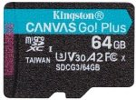 Kingston Canvas Go! Plus 64GB - Without Adapter