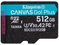 Kingston Canvas Go! Plus 512GB UHS-1 (U3) - Without Adaptor