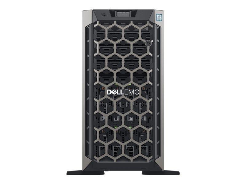 Dell EMC K/PowerEdge T440 + Win Server 2019 Standard Bundle - Tower - 5U - Xeon Silver 4208 2.1 GHz