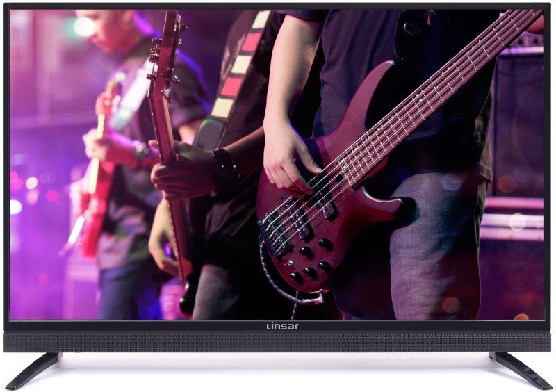 "Linsar 32SB100 32"" HD ready TV with Built-in Soundbar"