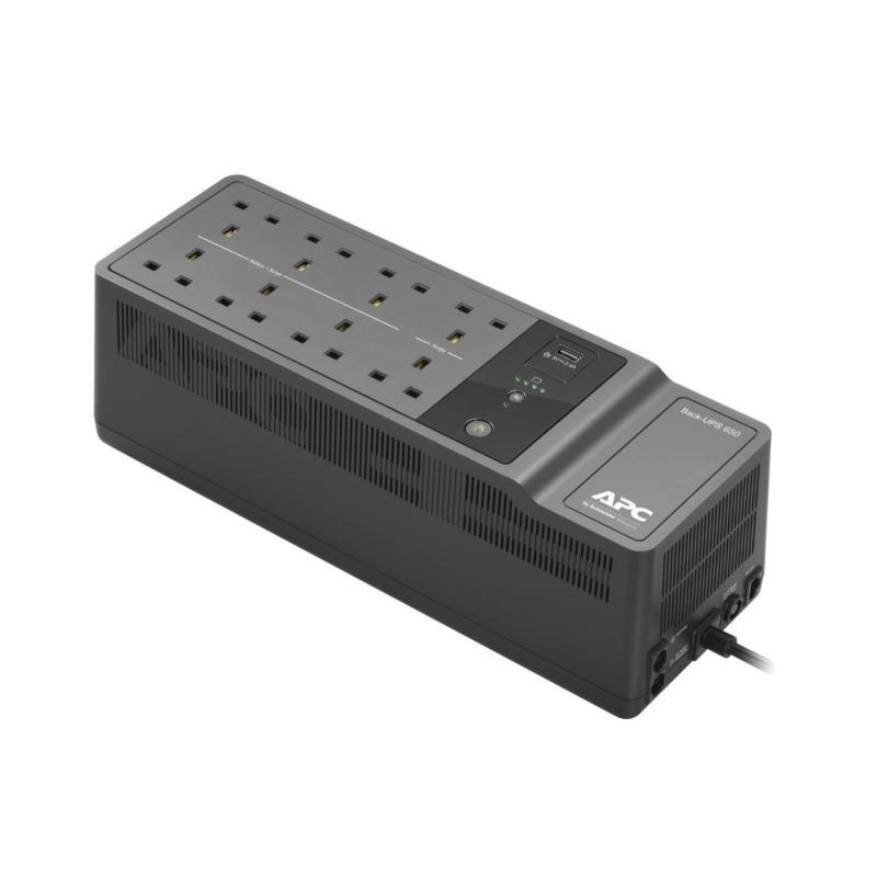 APC Back-UPS 650VA - 230V - 8 x AC Power - 1 USB Charging Port