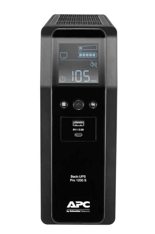 APC Back-UPS Pro BR1200SI - Line-Interactive UPS - 1200VA/720W - 8 x IEC